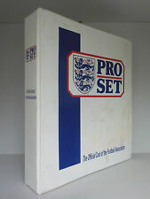 Pro Set : England Football Cards - 329 Cards in Binder! (ID:613)