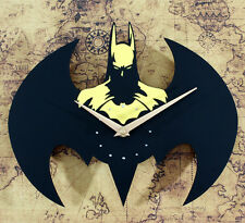 Batman Cartoon Wall Clock Home Decor Creative Modern Design Watch Silent Time
