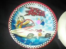 Classic Speed Racer cartoon party supplies plates napkins and cups
