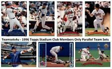 1996 Topps Stadium Club Members Only Parallel Team Sets ** Pick Your Team Set **