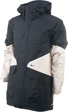 Nike Storm Fit Padded Insulated Snowboard Coat Mens Jacket - Black/Stone