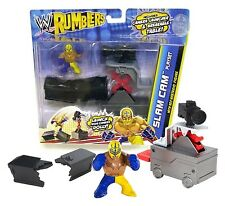 WWE RUMBLERS SLAM CAM PLAYSET WITH REY MYSTERIO FIGURE NEW IN PACKAGE