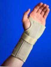 Natural Pain Relief Thermal Support Wrist Hand Brace, Beige, Carpal Tunnel