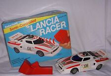 Vintage Rare Radio Shack Sonic Controlled race car Lancia Stratos HF Racer 1970s