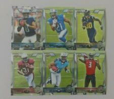 2015 TOPPS CHROME FB VETERAN, ROOKIE BASE CARD COMPLETE YOUR SET SEE DESCRIPTION