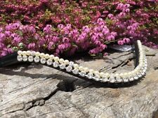 Competition Browband Silver Crystal Pearl Browband Show Browband Full Cob Pony