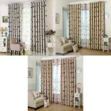 100x250cm Sheer Curtain Window Curtains Bedroom Home Decor Flower Pattern