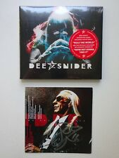 *** DEE SNIDER * AUTOGRAPHED SIGNED NEW CD * METALLICA * TWISTED SISTER * SLAYER