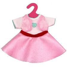 16'' American Salon Girl Doll Clothes Fake Two Pink Princess Dress Baby Toy Gift