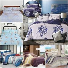 Big Sale! Quilt Doona Duvet Cover Set Single Double Queen King Size Bed