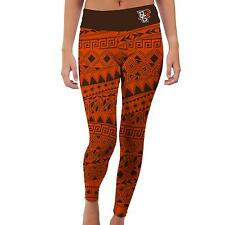 Bowling Green State Falcons Womens Yoga Pants Tribal  Design
