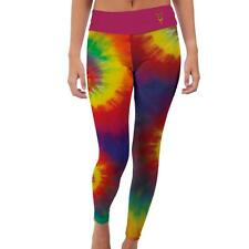 Arizona State ASU Sun Devils Womens Yoga Pants Tie Dye  Design