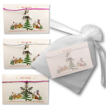 Christmas Town Wish Bracelets Present Gift Idea Kids Stocking Filler Charm Fun