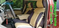 Ford F-150 Coverking Custom Tailored Front & Rear Neosupreme Seat Covers