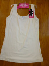 Flexees Fat Free Dressing by Maidenform Firm Control Tank S 2XL NEW Ivory white