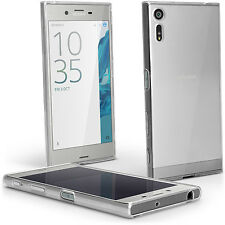 Glossy TPU Gel Case for Sony Xperia XZ F8331 Skin Cover + Screen Protector