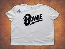 Bowie DAVID BOWIE  Primark Christmas Xmas Present Gift  Womens T Shirt
