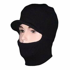 One Hole Full Face Cover Thermal Ski Mask Winter Neck Warmer Beanie Hat