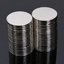 50pcs N50 15mmx1mm Super Strong Round Disc Magnet Rare Earth Neodymium Magnets