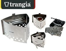 TRANGIA T3 TRIANGLE COMPACT HIKING FOLDING STOVE STAINLESS MADE IN SWEDEN