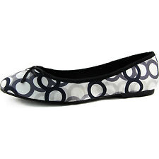 Women's Round Toe and Silk Casual Fashion Ballet Flats with Bow