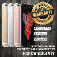 16GB- Apple iPhone 6 Plus/5S/iPhone 6/iPhone 4S  Unlocked No fingerprint sensor