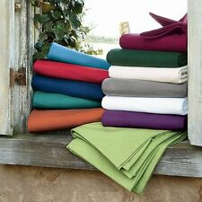 US-Queen Size All Solid Bedding Items 1000TC 100%Egyptian Cotton Select Item
