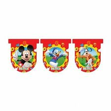 DISNEY MICKEY MOUSE CLUBHOUSE - 3 METRE ~ BUNTING BANNER