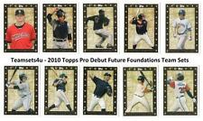 2010 Topps Pro Debut Future Foundations Baseball Team Sets ** Pick Your Team Set