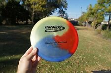 Innova Champion Fly Dye Teebird 167g  Disc Golf good condition Red White Blue