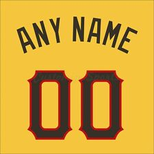 Baseball 2006 All Star National League Jersey Customized Number Kit un-sewn