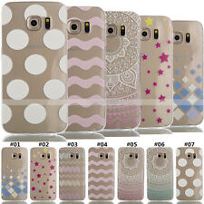 TPU Silicone Protective Soft Rubber Back Case Skin Gel Cover For Samsung Galaxy