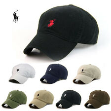 Men's Wemon's Run Polo Hats Embroidery Classic Baseball Strapback Adjustable Cap