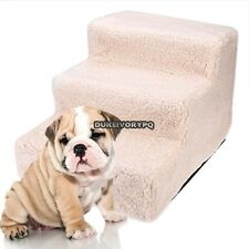 Pet Stairs Portable 3 Steps Stairs Travel Dog Steps Pets Steps Stairs Ladder