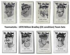 1970 Milton Bradley (Ex Condition) Baseball Team Sets ** Pick Your Team Set **