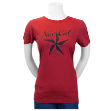 Nor Cal Mission Fitted Juniors T-Shirt Scarlet