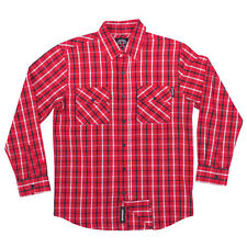 Independent Control Button Up Shirt Red/White/Navy