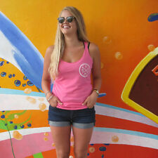 Pacific Wave Surf Club Tri-Blend Racerback Women's Tank Vintage Pink