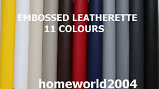 Faux Leather Embossed Upholstery Fabric Leatherette samples