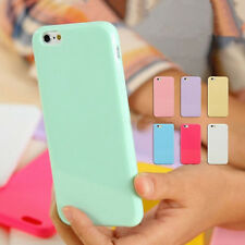 Cute Candy Rubber Gel Soft Silicone TPU Case Cover Skin For iPhone 7 7 Plus 6s 6