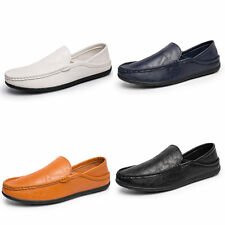 NEW FASHION MENS DRIVING MOCCASIN FLAT LOAFER CASUAL BREATHABLE SHOES