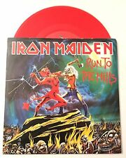 "*IRON MAIDEN-Run To The Hills 7"" Red Vinyl / Import /  Heavy Metal / 2002-Rare!*"