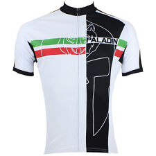 Short sleeve New Bike Bicycle mens outdoor cycling jersey red and green stripes