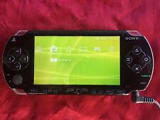 Sony PSP 1001 Portable Black Handheld System Used Game Play Kids PlayStation 1k