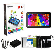 """KOCASO 7"""" Inch Tablet PC Android 4.4 Quad Core MID 8GB 1.3GHz Dual Camera Blue"""