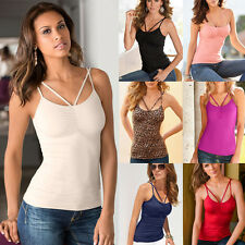 Women Sexy Summer Ladies Top Vest Sleeveless Blouse Casual Tank Tops T Shirt fd