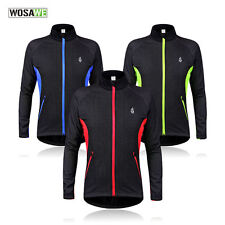 Cycling Jacket Windstopper Winter Thermal Fleece Windproof Long Riding Bike Coat