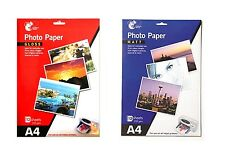 235gsm A4 Matt Gloss Photo Paper (12 Sheets) for Quality Inkjet Printer Photo