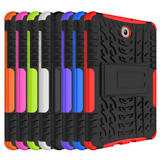Rugged Rubber Shockproof Hybrid Hard Case Cover For Samsung Galaxy Tab S2 8.0