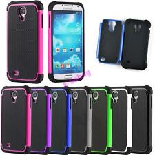 Heavy Duty Impact Silicone Hard Case Cover For Samsung Galaxy S4 Mini i9190 i435